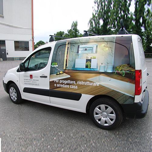decorazione furgone interni per caso