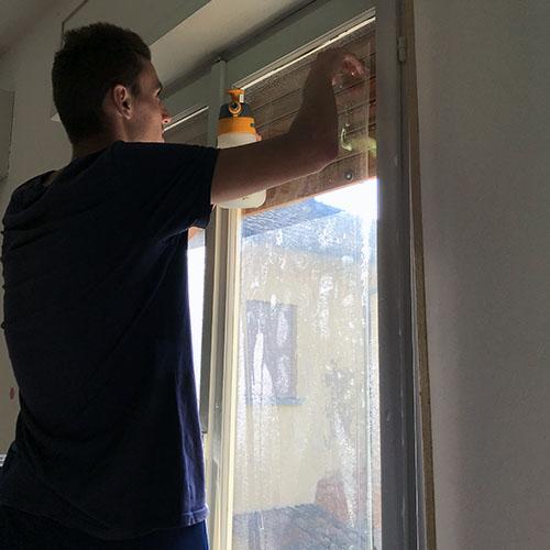 pellicole di sicurezza vetri