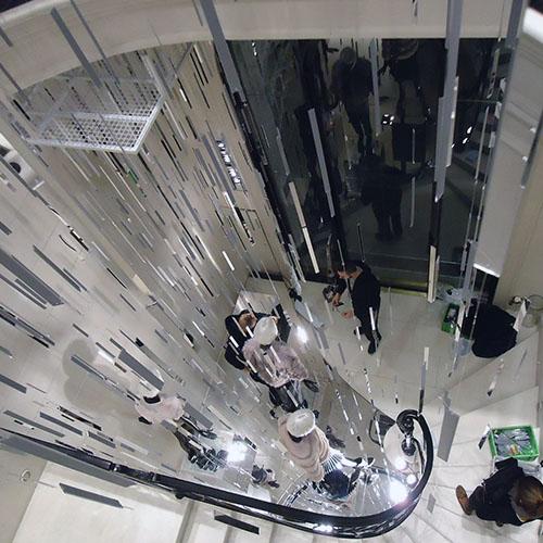 scenografia vetrina